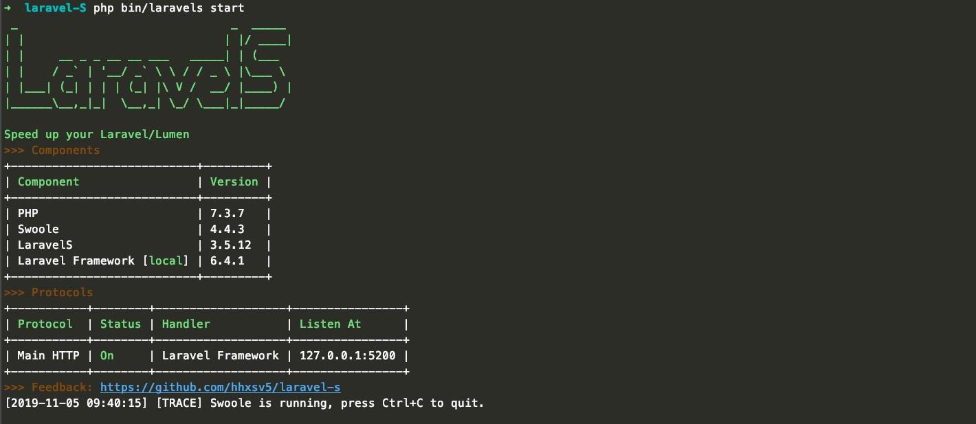 Laravel-S 项目之初体验